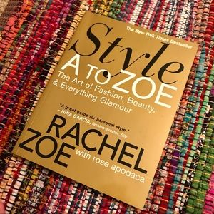 Other - Style A to Zoe book by Rachel Zoe